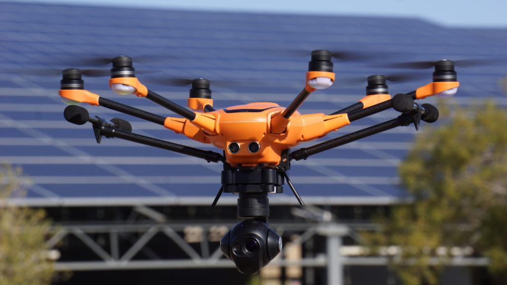 Гексакоптер 520 YUNEEC , Yuneecrussia, профессиональный дрон с разными камерами