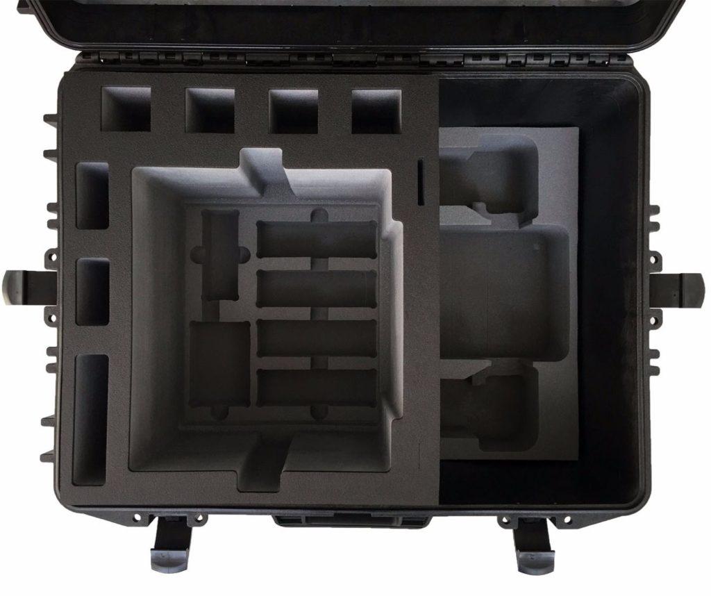 Места в кейсе для коптера и аксессуаров H520