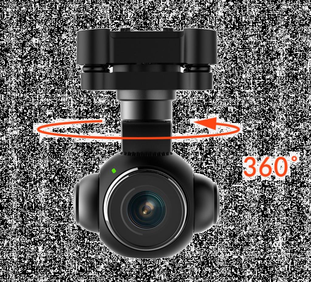 Yuneec Camera rotation