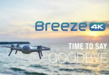 BREEZE4k, мультикоптер, yuneec
