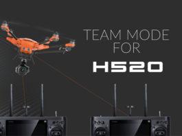 yuneec-H520-Team-mode
