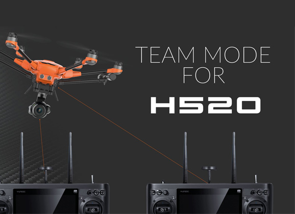 yuneec-H520-Team-mode