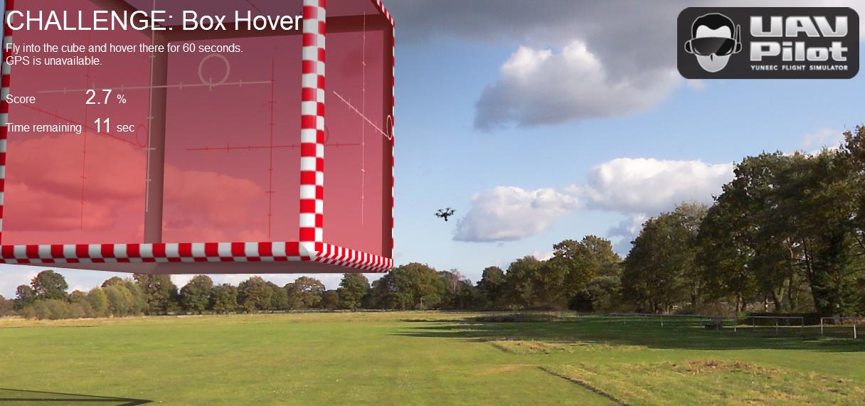 Симулятор полетов UAV Pilot получил новое обновление. Стало возможно тренироваться на H520 и Typhoon H Plus.