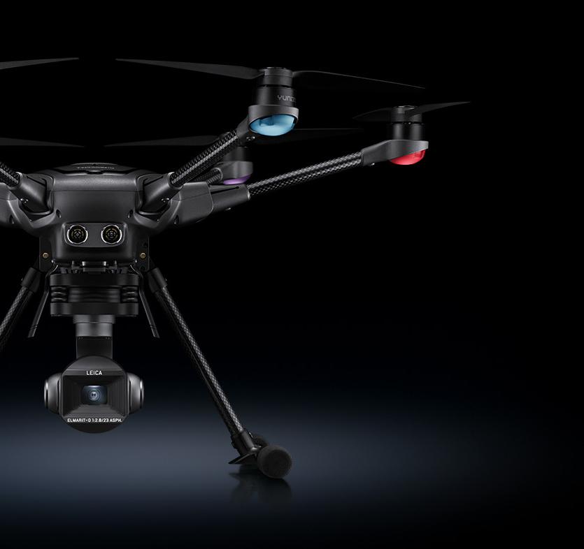 Leica camera drone