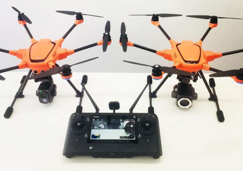 Камеры Yuneec E30Z и E10TvR
