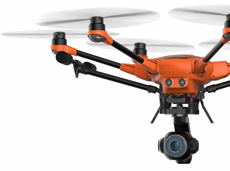 Yuneec H520 width camera E90